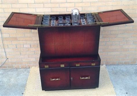 Pop Up Bar Cabinet Reserved For Charles Antique Liquor Cabinet Deco Pop Up Bar Mid Century Bar Mixology Bar