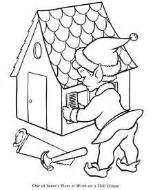 elves coloring pages elves workshop coloring pages kids coloring pages