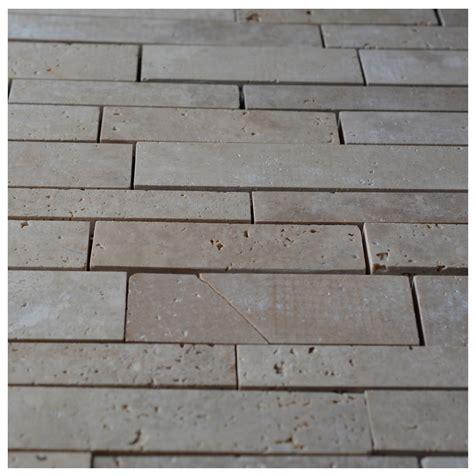 random pattern mosaic tile philadelphia travertine random strip pattern mosaic tile