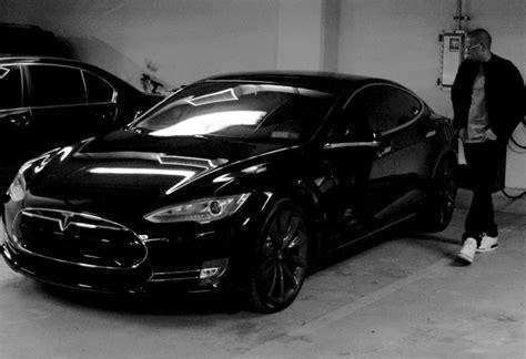 Tesla Car Website Image Jayz With Tesla Model S Electric Car From Beyonce