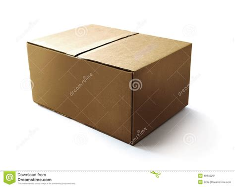 Craft Paper Box - craft paper box stock image image 19149281