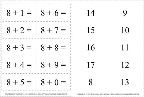 printable math flashcards addition 4 best images of free printable addition flash cards