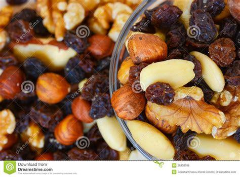 Mixed Nuts And Fruits 1 mixed nuts and dried fruits stock photo image of papaya seed 26908386
