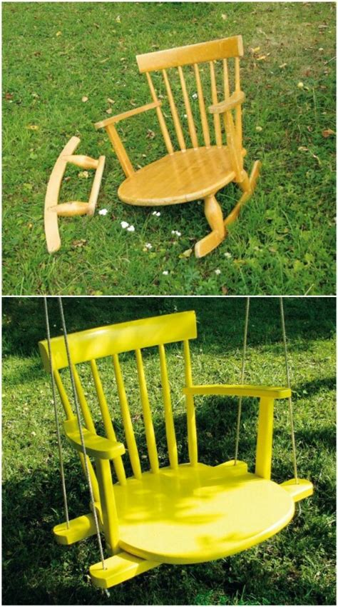 13 creative ways to repurpose old chairs repurposed 20 brilliantly creative ways to repurpose old chairs diy
