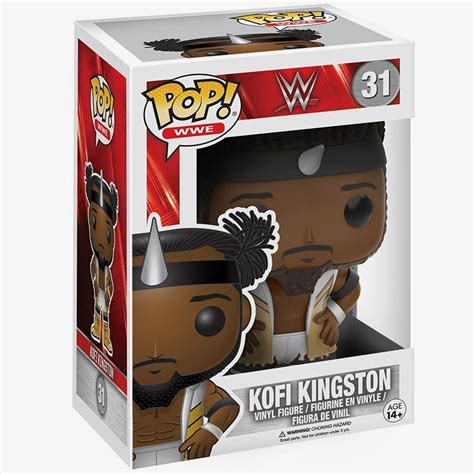 Funko Kofi Kingston 12360 kofi kingston the new day pop vinyl figure