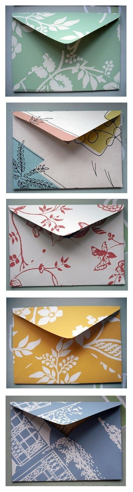 How To Make An Envelope From Scrapbook Paper - best 20 scrapbook paper crafts ideas on diy