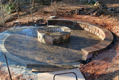 what rocks to use for pit pit paver patio