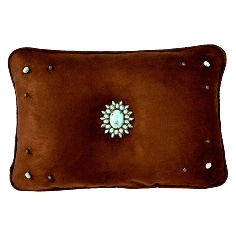 oasis chocolate accent pillow 20 x 26