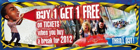 theme park deals uk buy 1 get 1 free deal january hotel theme park breaks
