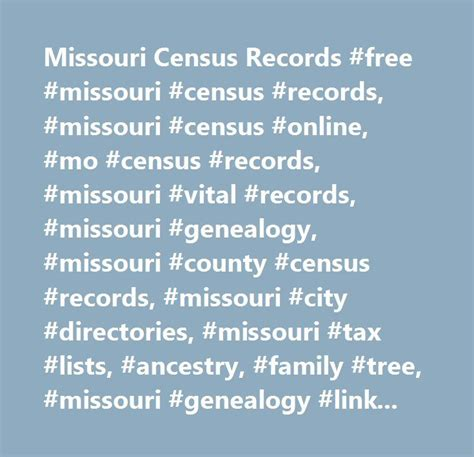 Divorce Records Missouri Free 972 Best Missouri Facts Events Places History