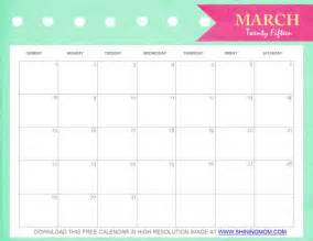 Pretty Calendar Template by Free Printable March 2015 Calendar And Pretty