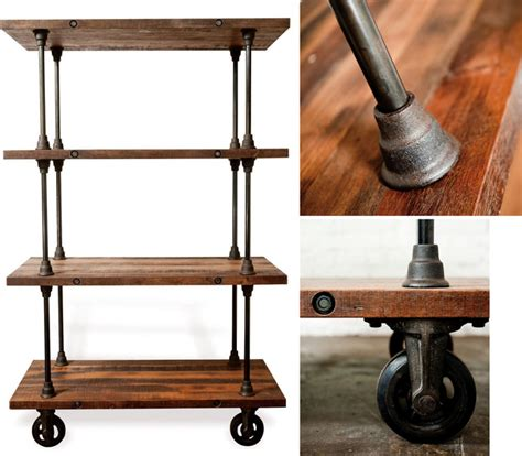 industrial style bookshelves industrial style bookshelves for a simple contemporary