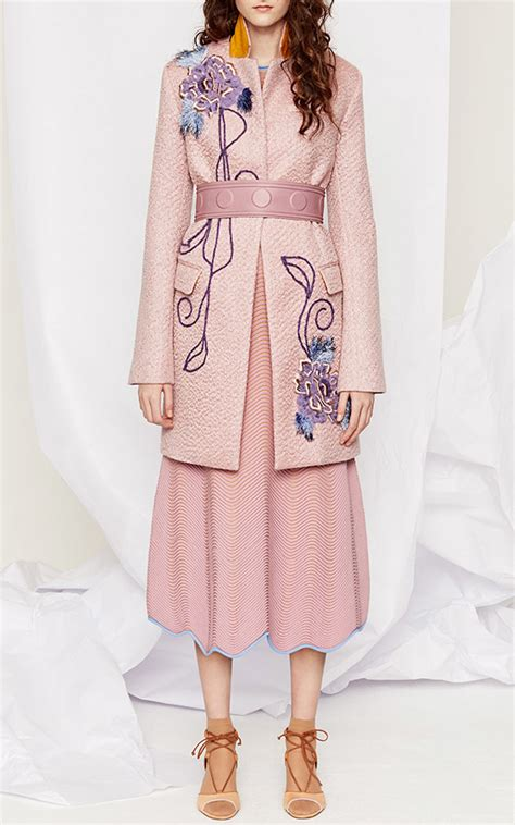 Embroidered Coat vintage embroidered coats for fall and winter