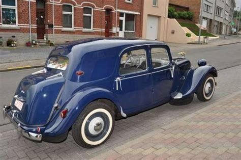 Citroen Traction Avant For Sale by For Sale 1954 Citroen Traction Avant Normale Classic