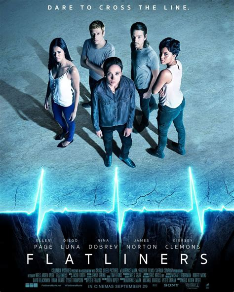 flatliners film poster new posters for flatliners blackfilm com read