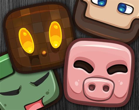 minecraft mask template minecraft masks printable design templates