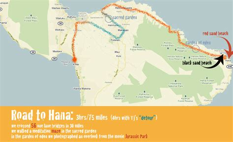 printable road to hana map road to hana road map pictures to pin on pinterest pinsdaddy