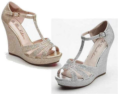 Bridal Wedge Sandals by Bridal Shoes Low Heel 2015 Flats Wedges Pics In Pakistan