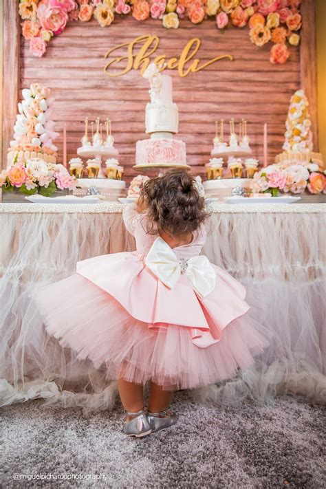 1st birthday themes girl pinterest kara s party ideas birthday girl sweet table from a pink