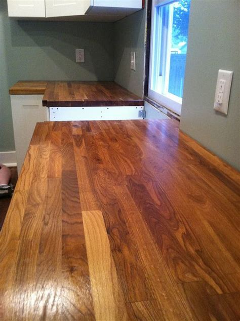 thinking about installing a butcher block countertop