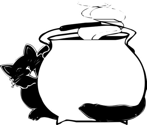 cat behind cauldron blank - /holiday/halloween/blanks/cat ... About:blank Free Halloween Clipart