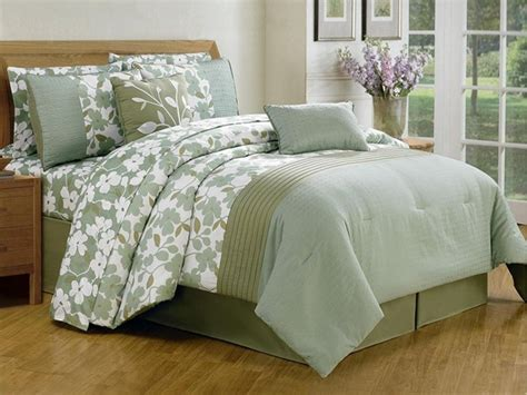 leila 10 piece embellished comforter set 2 sizes