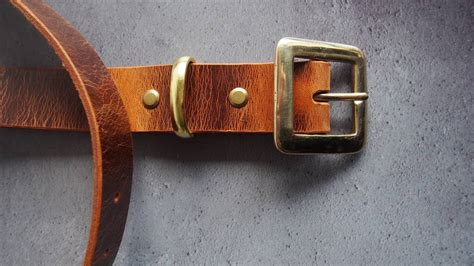 personalised name leather belt by h 212 rd