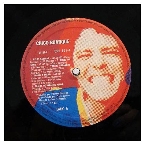 Usvi Records Chico Buarque Vinil Records