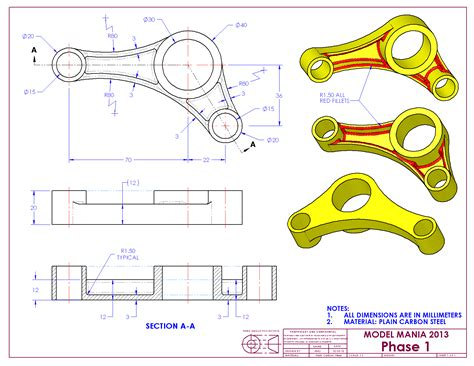 solidworks drawing practice   clip arts