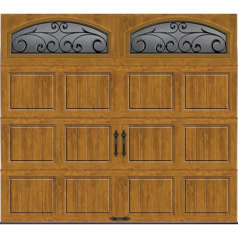 Garage Door 8 X 7 Clopay Gallery Collection 8 Ft X 7 Ft 6 5 R Value