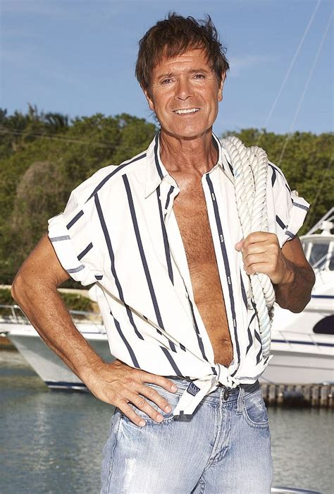 cliff richard official 2018 1785494384 cliff richard back to his vest aged 76 in 2018 calendar daily mail online
