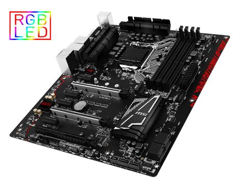 Nhk Gp Pro Solid Black Fiber msi z170a gaming pro carbon intel motherboard