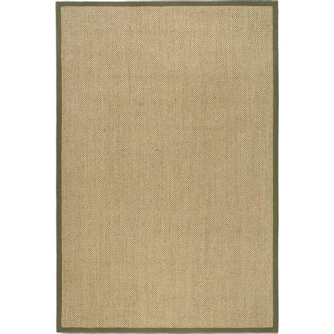 Beige And Green Area Rugs Safavieh Fiber Beige Green 6 Ft X 9 Ft Area Rug Nf443c 6 The Home Depot