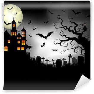 Halloween Wall Mural halloween wall murals change your space pixers 174