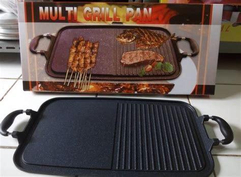 Wajan Panggangan multi grill pan panggangan multiguna wajan bakar sehat