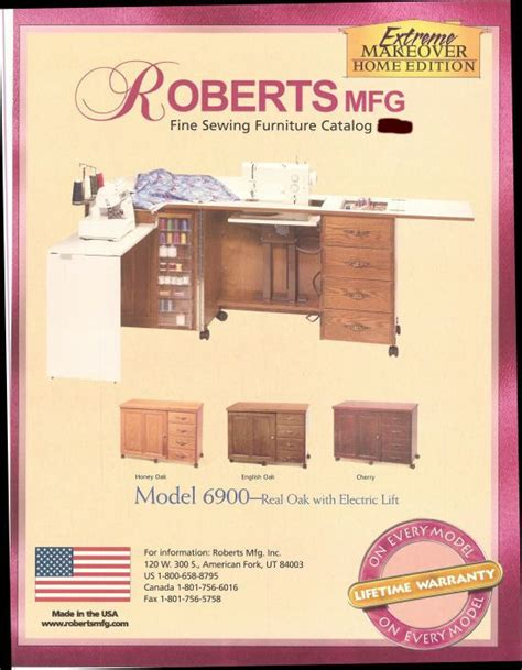 roberts sewing machine cabinets furniture robert ri chard and sewing on pinterest