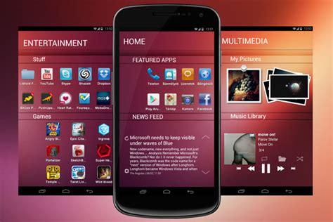 ubuntu android gadgets n soft ubuntu touch android rival
