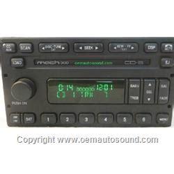 oem auto sound factory radio ford,mercury 2005 2007 6