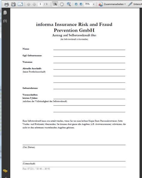 Musterbriefe An Versicherungen Schwarze Liste Der Versicherungen Kostenlose Selbstauskunft Beim His System Der Versicherungen