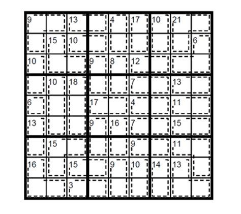 printable killer sudoku easy easy killer sudoku puzzle 2 easy killer sudoku to print