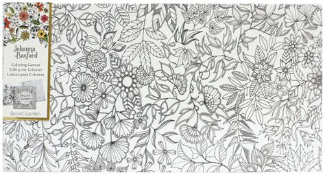 secret garden coloring book nz buy johanna basford canvas 12x24 secret garden garden at