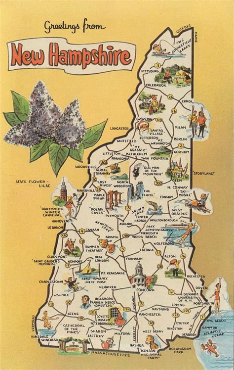 hton new hshire map 25 best images about granite state on