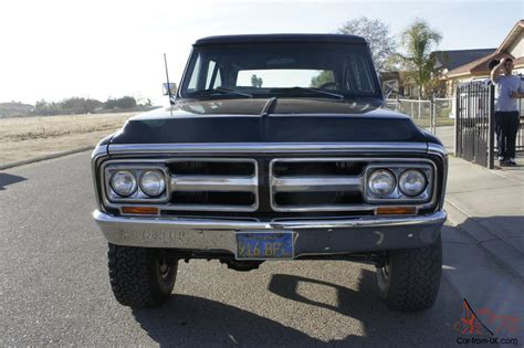 gmc jimmy 1970 gmc jimmy 4x4
