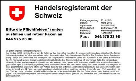 Rechnung Schweiz Uid Vorsicht Adressbuchschwindler Pr 252 Fen Statt Unterschreiben Pinus