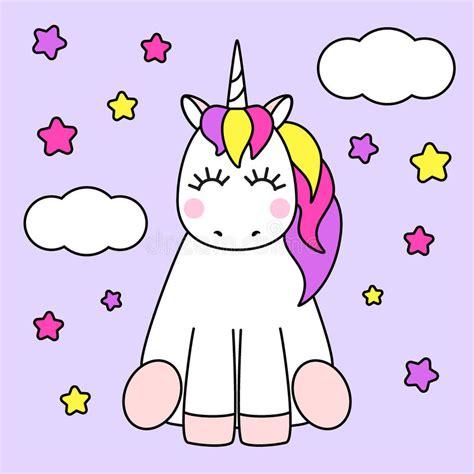 imagenes unicornios animados personaje de dibujos animados infantil lindo como