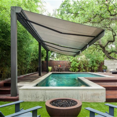 sunshade awning of texas motorized retractable patio awnings by texas sun shade