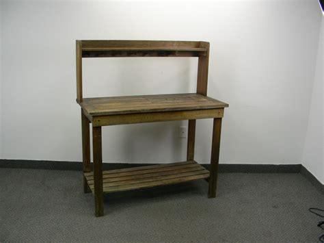 solid wood work table solid wood gardening work bench ec 173 high end