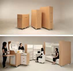 Save Space Space Saving Furniture Kenchikukagu Freshome Com