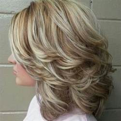 swept back casual haircust 50 dazzling medium length hairstyles hair motive hair motive