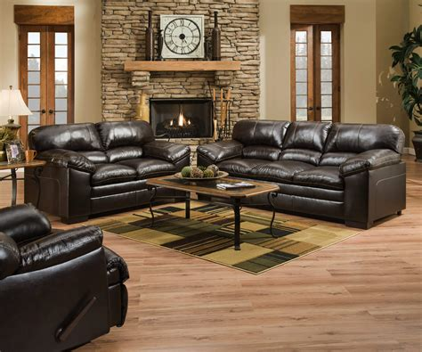 simmons sofa and loveseat bingo brown sofa and loveseat leather living room sets